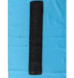 "30""  Black Fleece Girth Cover"