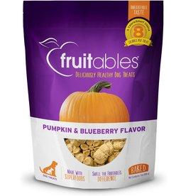 Fruitables Baked Dog Treats Pumpkin/Blueberry