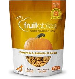 Fruitables Baked Dog Treats Pumpkin/Banana