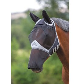 Full Face Fly Mask w/ Detach Nose