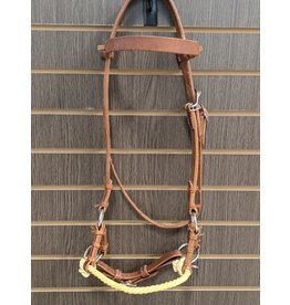 Rope Nose Leather Sidepull