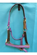 Purple Nylon Horse Halter