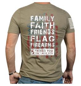 Nine Line Apparel Men's Shirt 5 Things