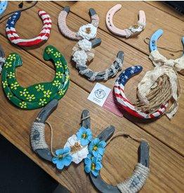 Decorative Horseshoes Asst