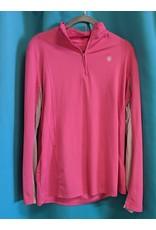 Ariat Heat Series Pink Long Sleeve XL