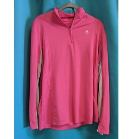 Ariat Heat Series Pink Long Sleeve XL