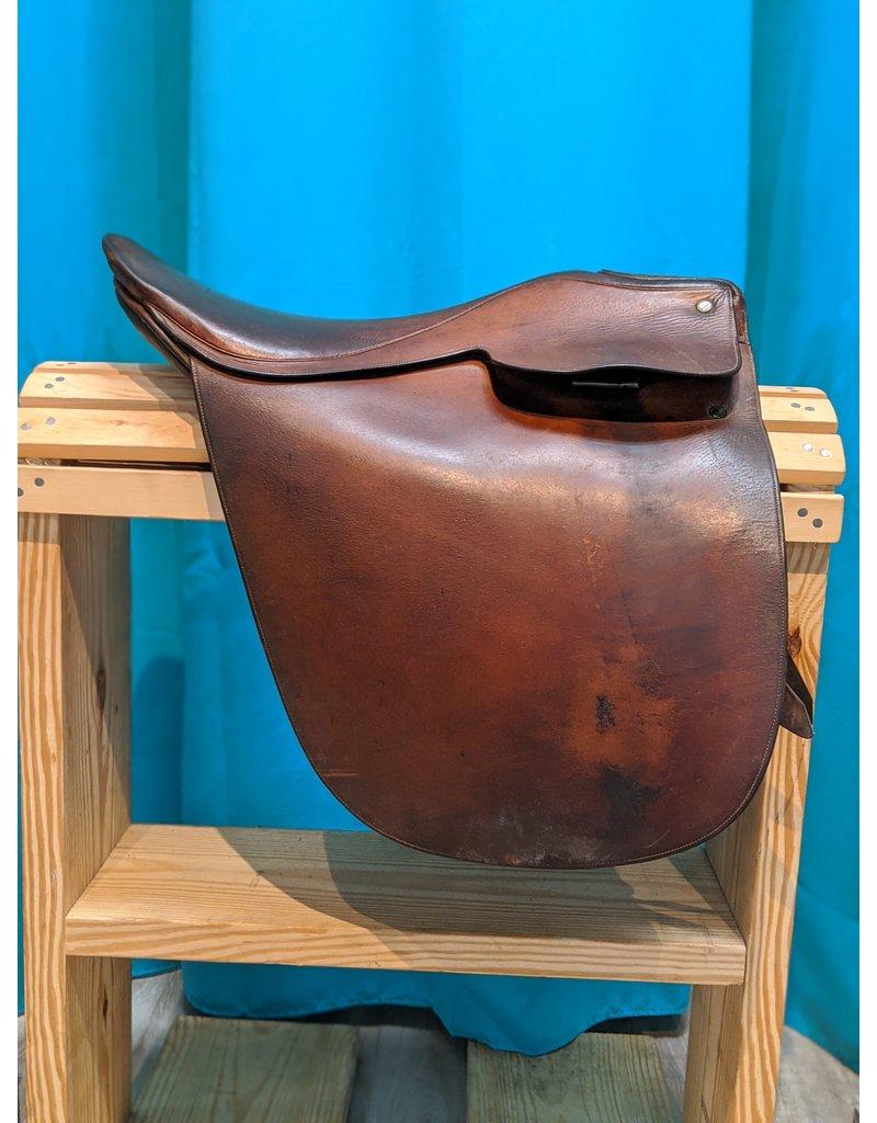 "21"" National Bridle Shop Cut Back Saddle"