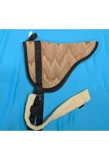Neoprene Backed Bareback Pad w/ Fleece Girth