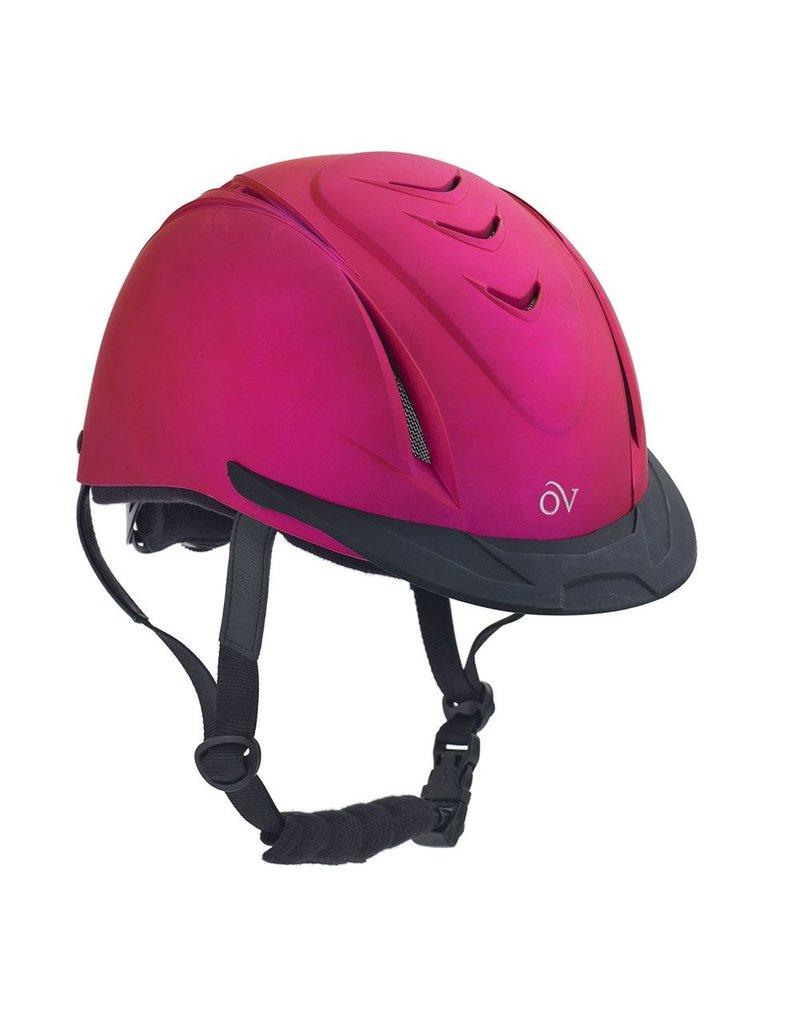 Ovation OV Metallic Schooler Helmet Fuchsia M/Lg