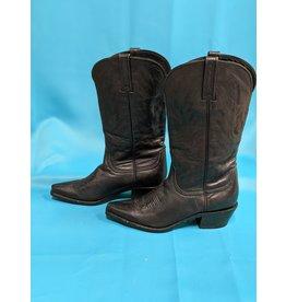 Black Snip Toe Boots Sz 8B