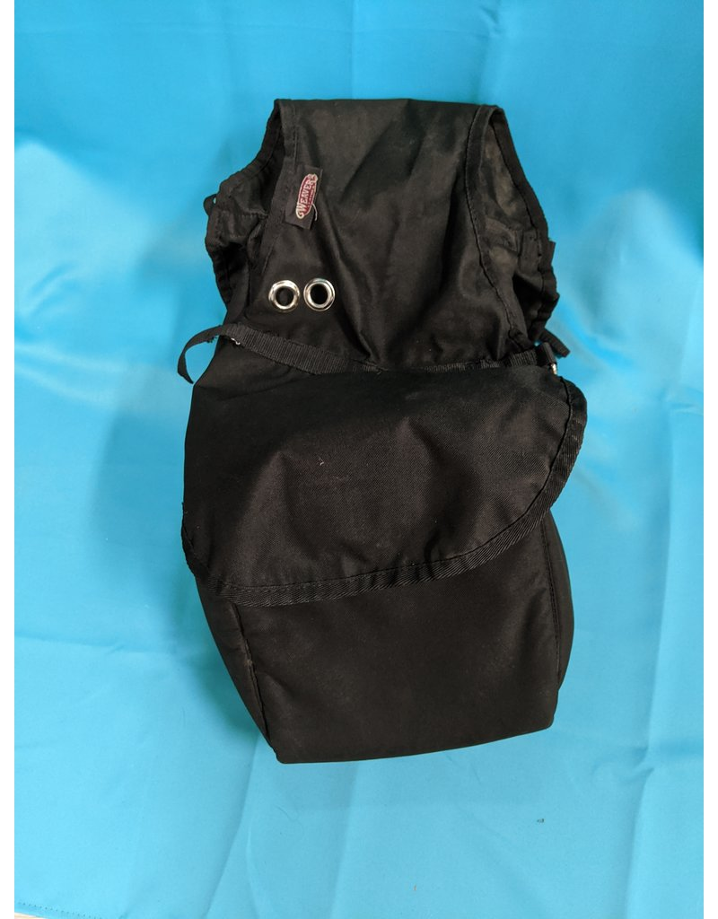 Weaver Weaver Saddle Bag Double Black
