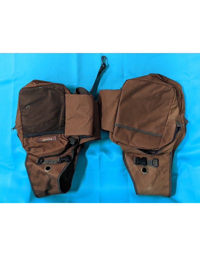 Tough1 Tough1 Saddle Bag Double Brown