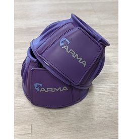 Arma Arma Bell Boots Full Purple