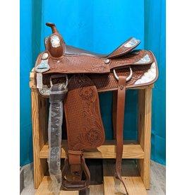 """16"""" JD Imports FQHB Western Saddle"""