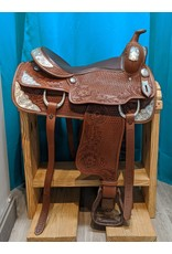 "16"" JD Imports FQHB Western Saddle"