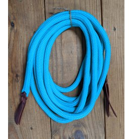 Turquoise Mecate Reins 20ft