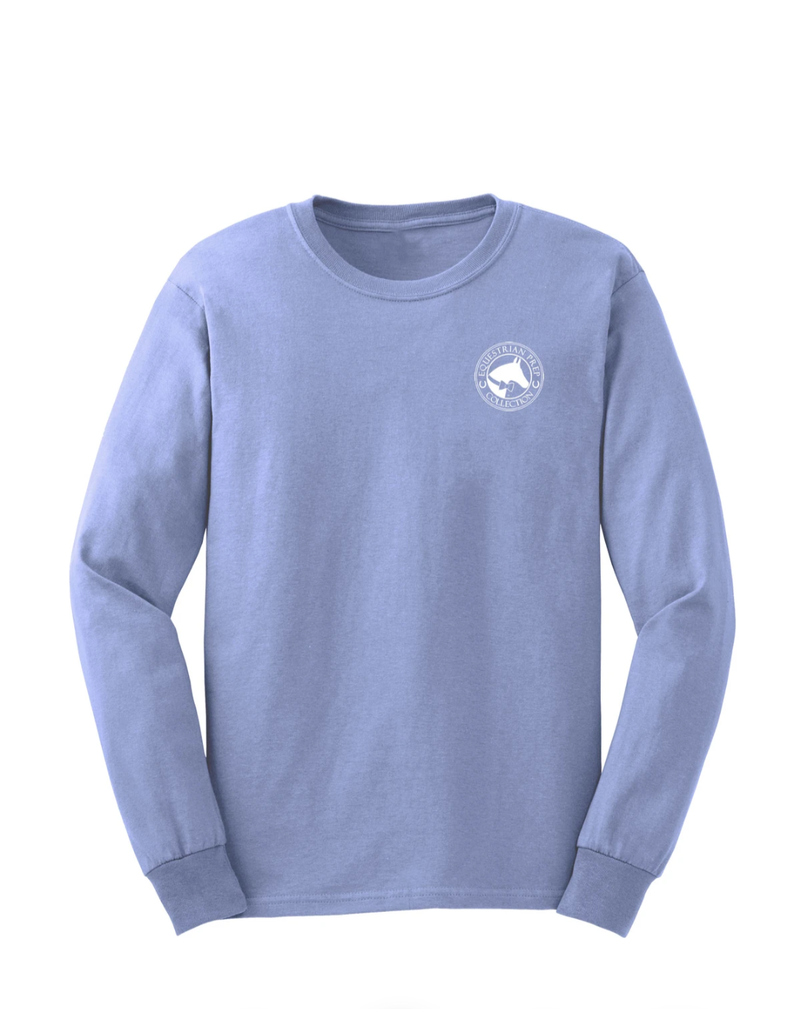 Equestrian Prep Weekends Are For Horse Shows Adult Long Sleeve