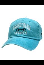 Stirrups Clothing Equestrian Sports w/ Bit Cap Turq