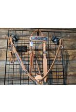 Rider's Trust Beaded Headstall Breastcollar Set - Natural