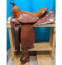 """15"""" Light Oil FQHB Saddle"""