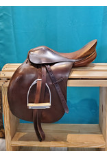 Crosby Crosby Lexington 16.5 English Saddle w/leathers and irons
