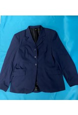 Devonaire Show Coat Sz 14 Navy Blue