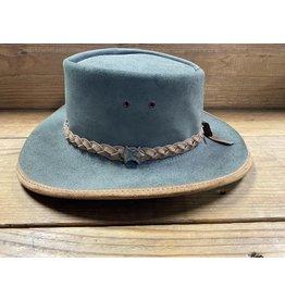 BC Hats Green Aussie Hat L