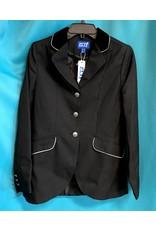 ELT Show Jacket Black w/silver trim size 36/8