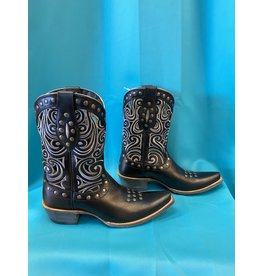 Ariat Ariat Black & Gray Vented Boots size 9