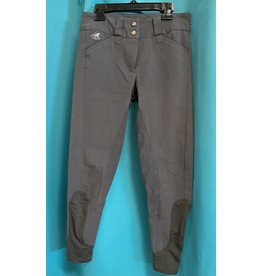 Grey Piper Kneepatch Breeches 24R
