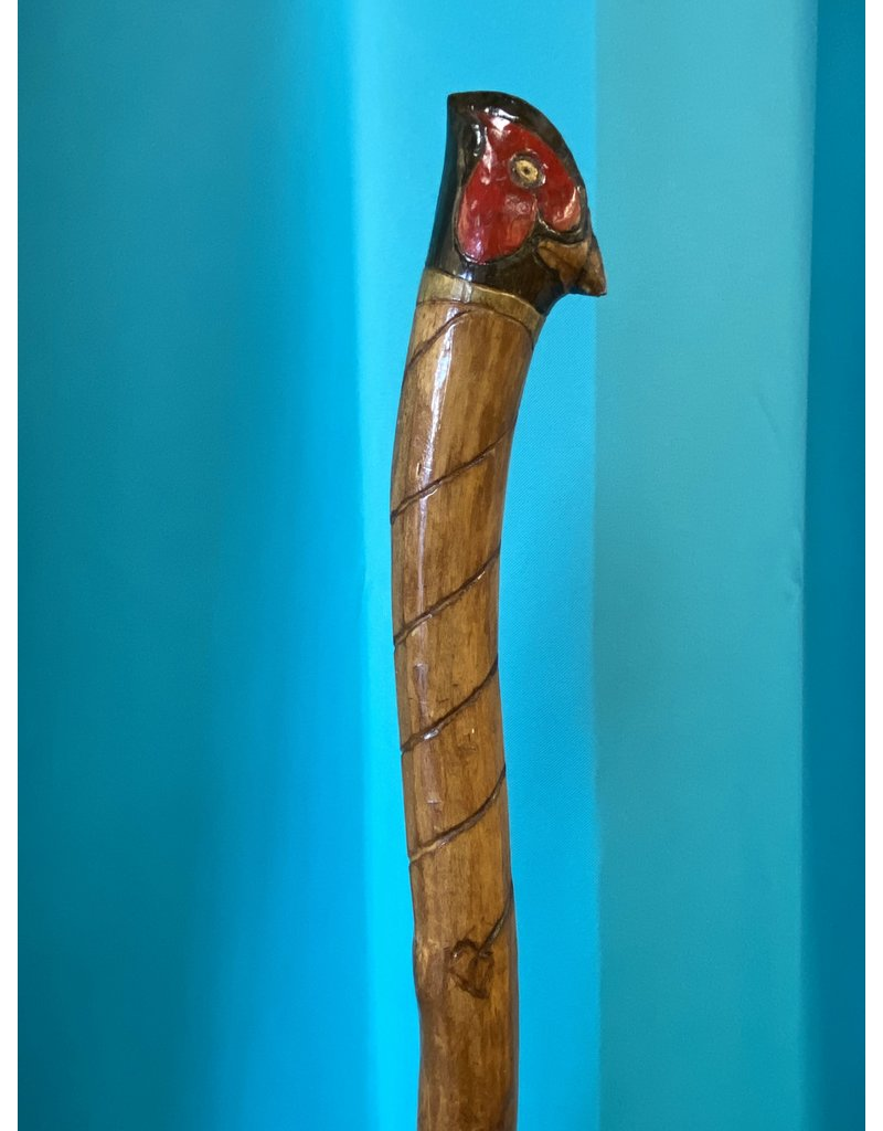 Pheasant Head Walking Stick