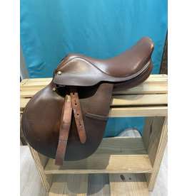 """Lancer 15"""" Lancer Saddle w/Leathers and Cover"""