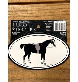 Horse Hollow Press Antique Horse Sticker