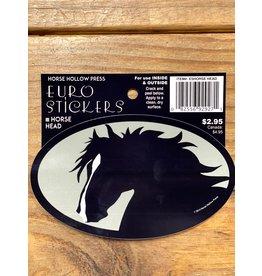 Horse Hollow Press Horse Head w/ Blaze Sticker