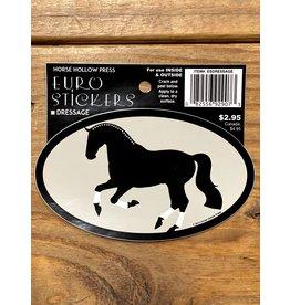 Horse Hollow Press Dressage Sticker