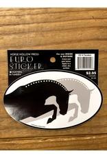 Horse Hollow Press Tandum Hunters Braids Sticker