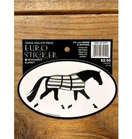 Horse Hollow Press Newmarket Blanket Sticker