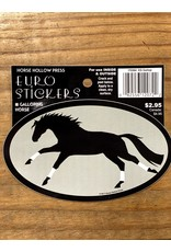 Horse Hollow Press Galloping Horse w/ Wraps Sticker