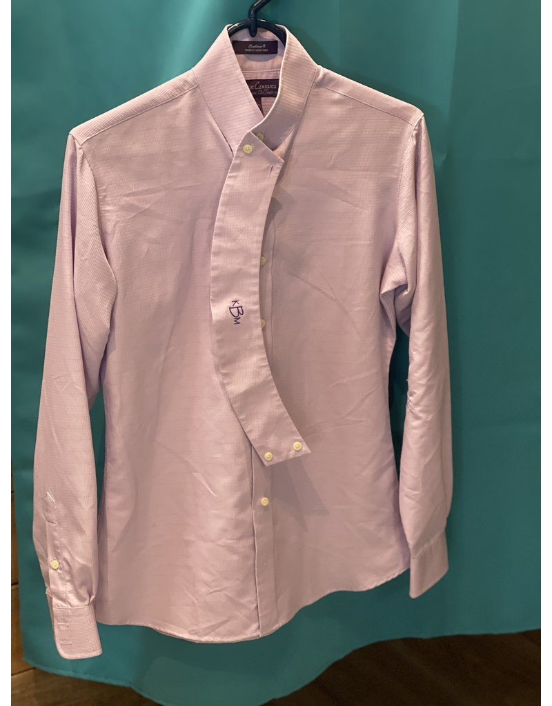 Essex Classics Essex Classic Coolmax Women's Show Shirt LS Lavender Size 34