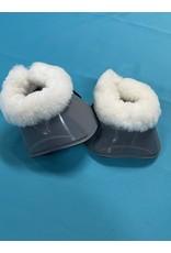 Bell Boots Grey Fleece (new) Med