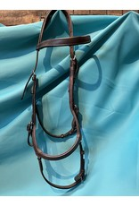 Rambo Micklem Bridle Brown Horse Size  (Like New!)