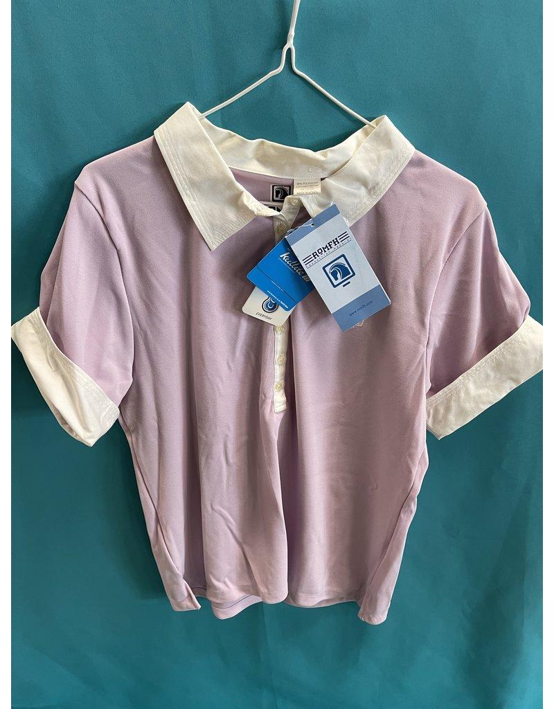 Romfh Half Sleeve Polo Pink w/white collar Size 3 (L) (NWT)