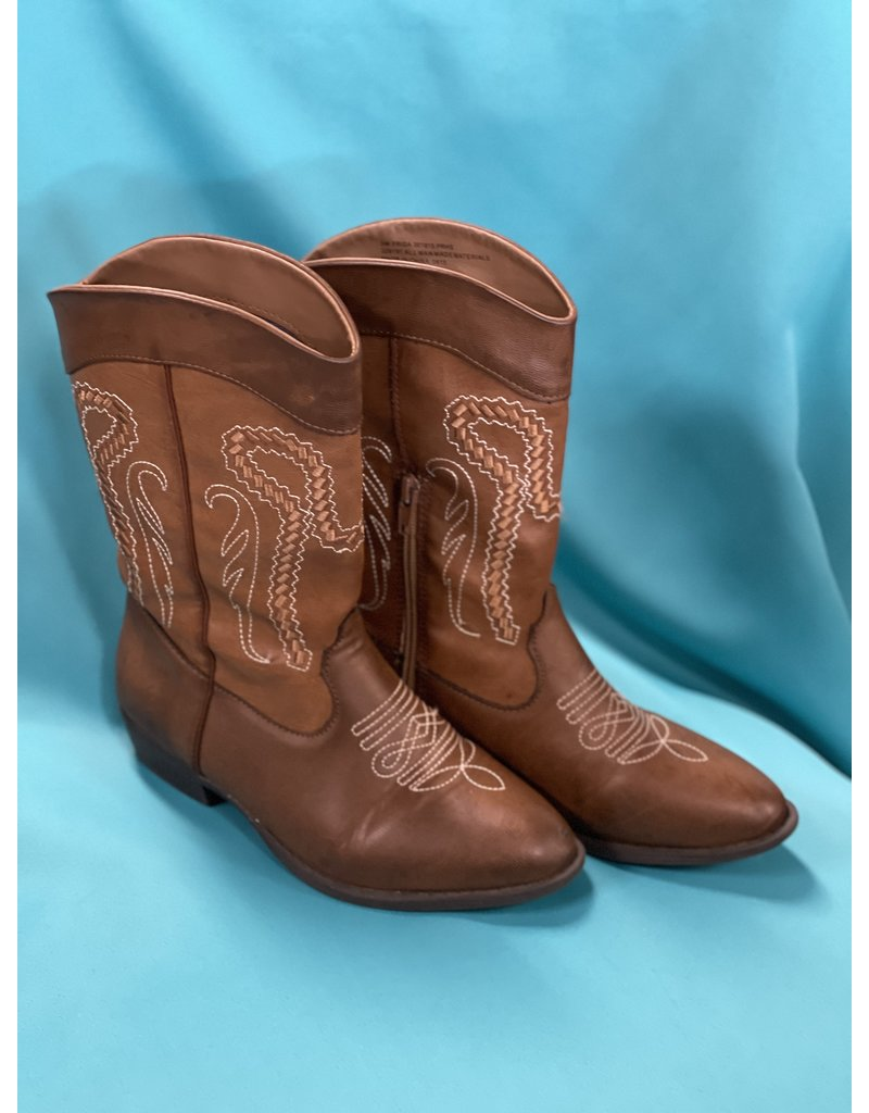 Rampage Girls Rampage Girls Cowgirl Boots Size 3 Brown