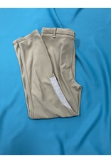 DevonAire Ribbed Breeches Tan 34L