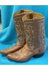 Tony Lama Tony Lama Lizard Cowboy Boot Brown 10