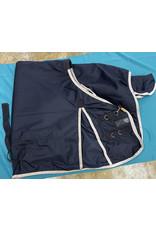 """Horze 75"""" Heavy Weight Blanket Dark Blue"""