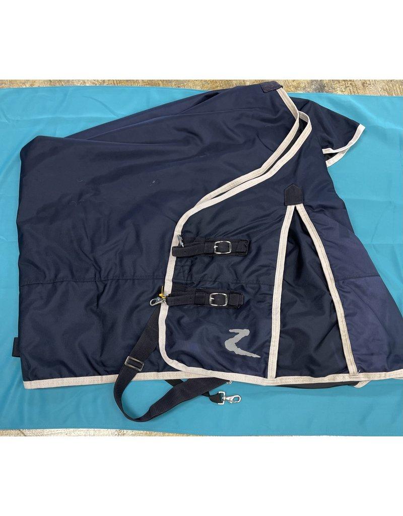 """Horze 75"""" Medium Weight  Blanket Dark Blue"""