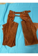 Western Chaps Rust Color Small