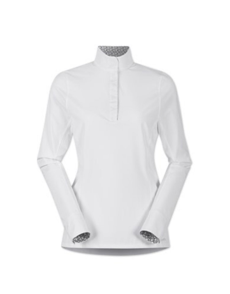 Kerritts Affinity Long Sleeve Show Shirt White L