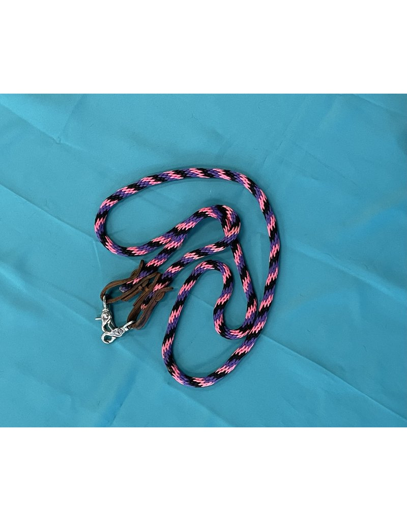 Purple, Black and Pink Reins